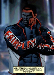 Mr. Terrific, the worst named superhero. But awesome.