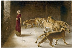Mariccus and the Lions