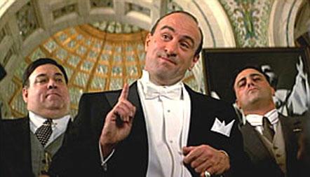 Al Capone in the Untouchables