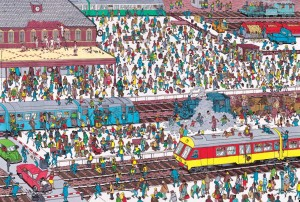 Where's Wally - Railway Station